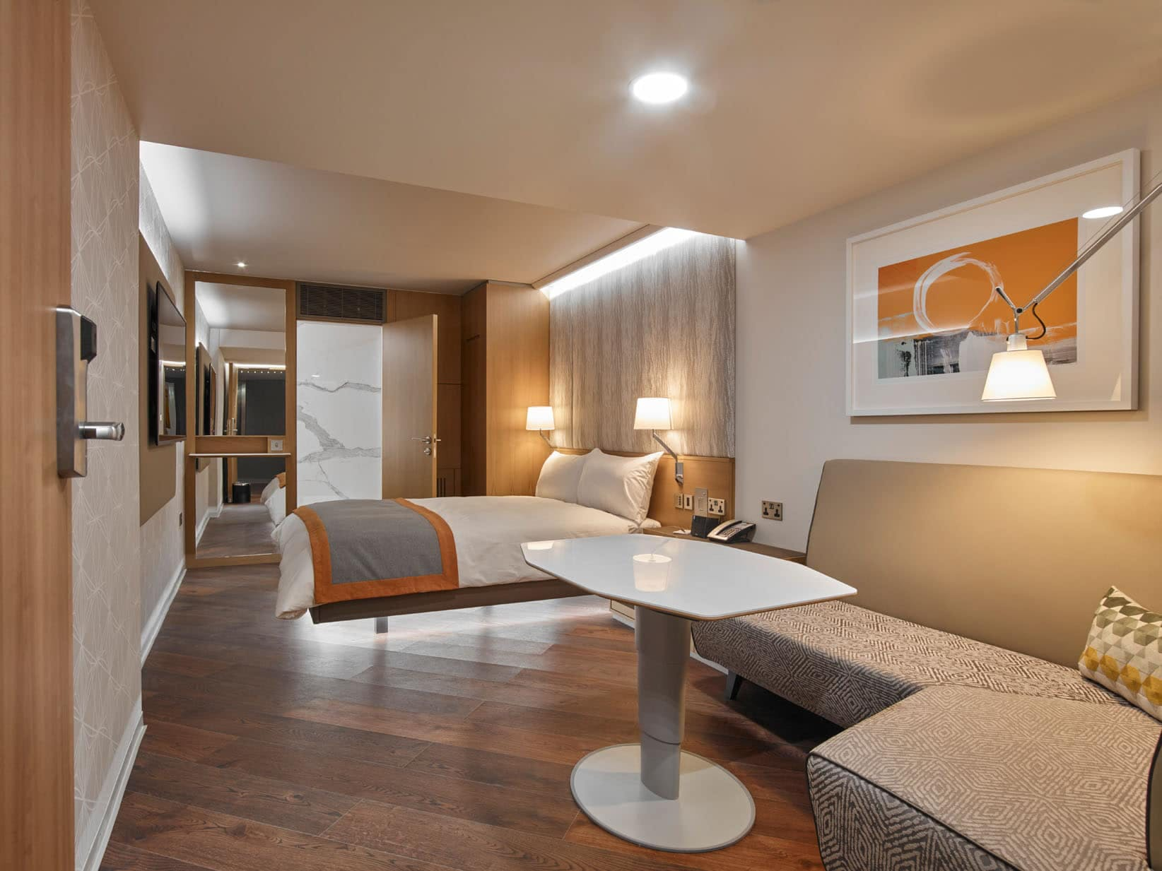 Club Level Classic Room at Club Quarters Hotel, Lincoln's Inn Fields, London