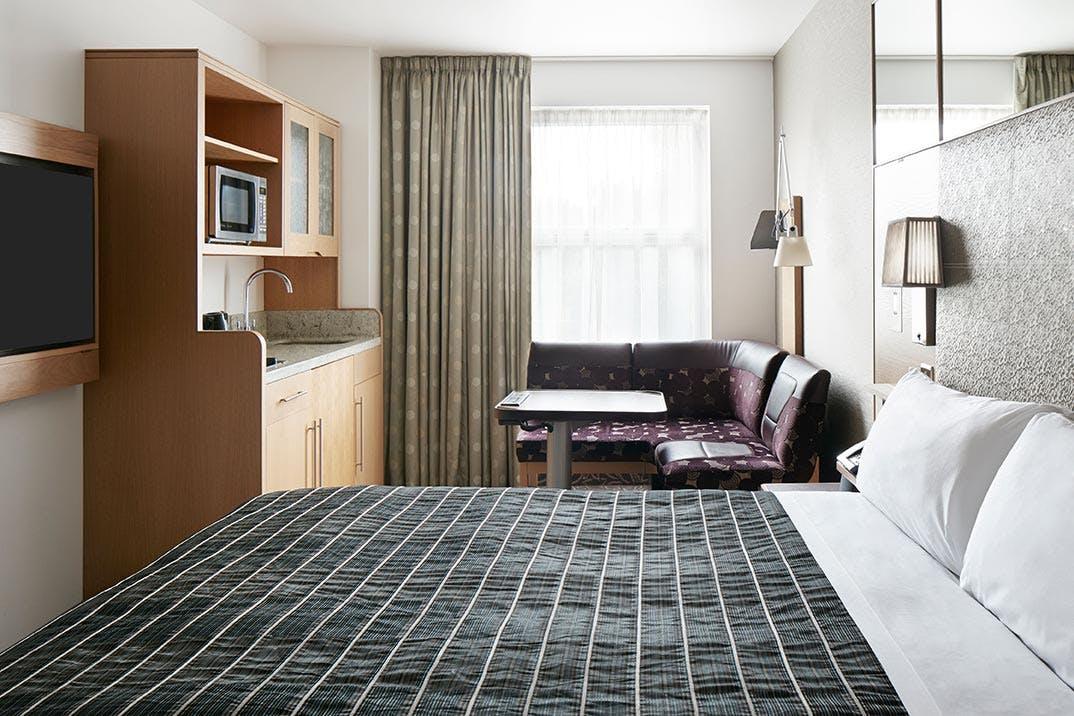 Studio Apartment at Club Quarters Hotel, Lincoln's Inn Fields