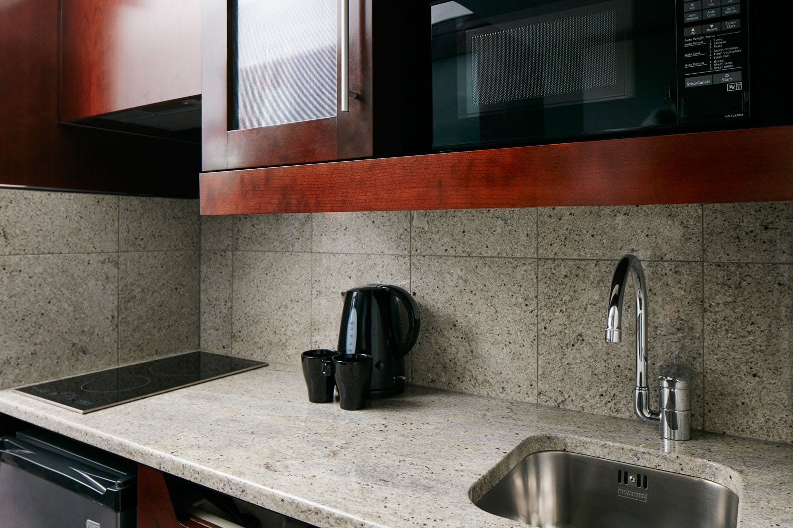 Kitchenette in the One Room Suite