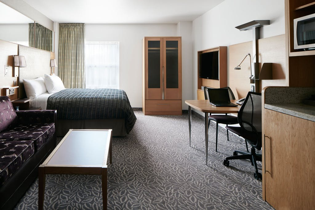 One Room Suite At Club Quarters Hotel Lincoln S Inn Fields