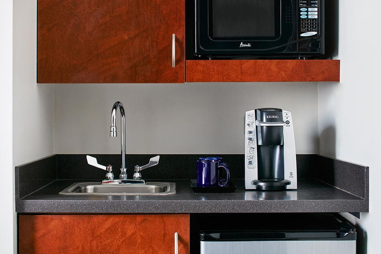 Kitchenette in the Superior Room - Studio Apartment