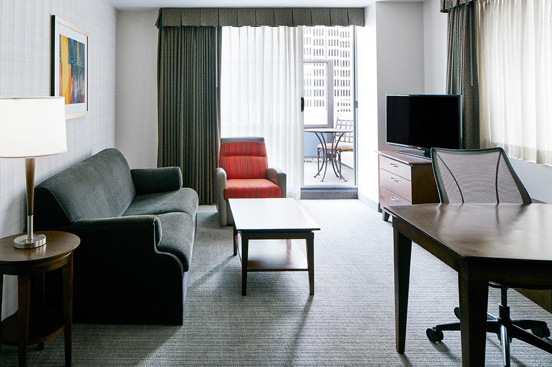 Diplomat Suite with Terrace