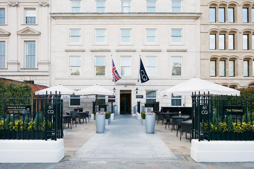 Exterior Club Quarters Hotel Lincolns Inn Fields