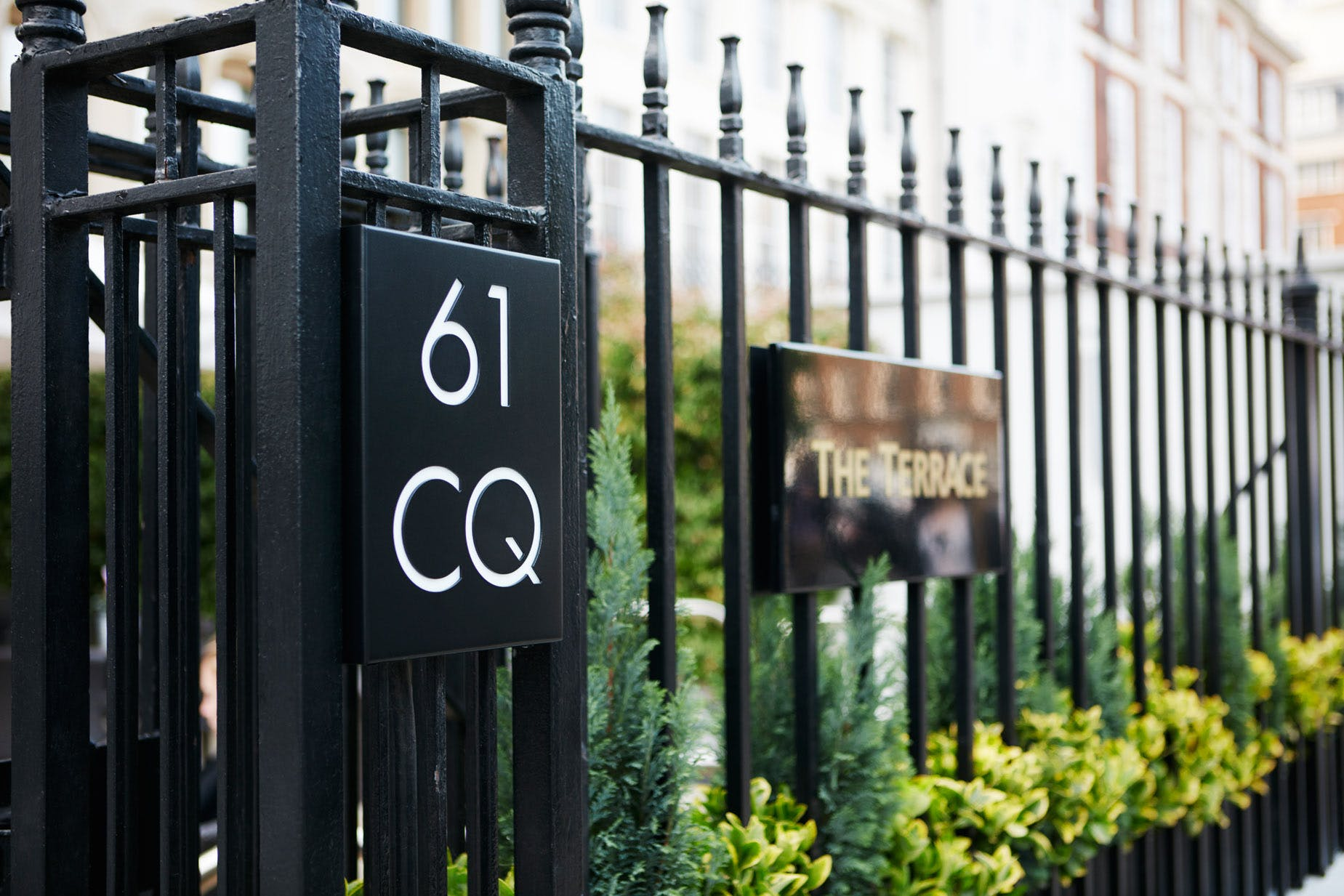 The Terrace at Club Quarters Hotel, Lincoln's Inn Field-Holborn, London