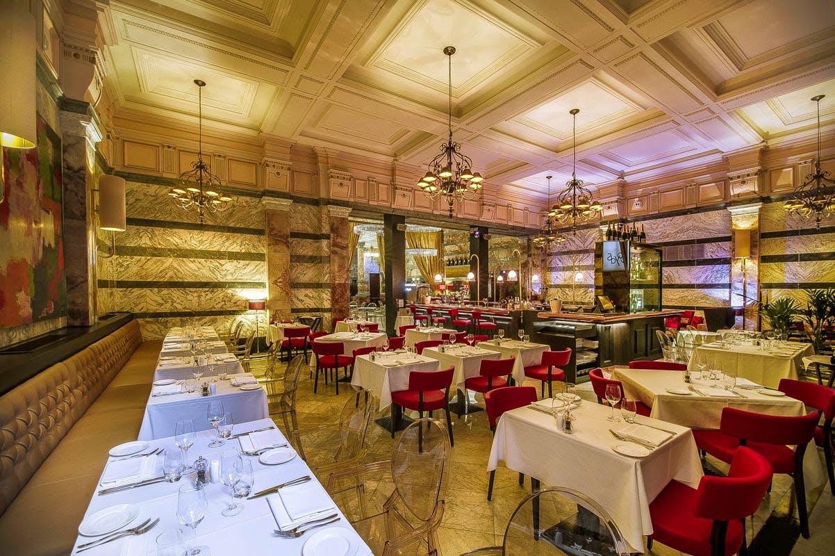 Boyd's Grill & Wine Bar at Club Quarters Hotel, Trafalgar Square, London