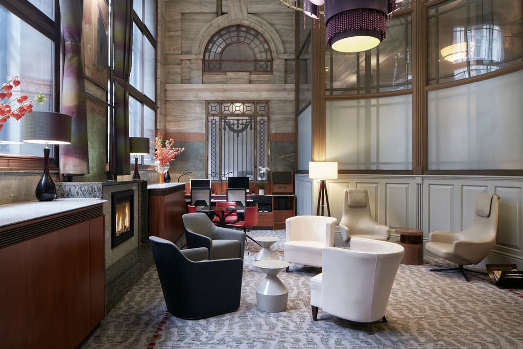 Club Lounge, Club Quarters Hotel, Gracechurch, London