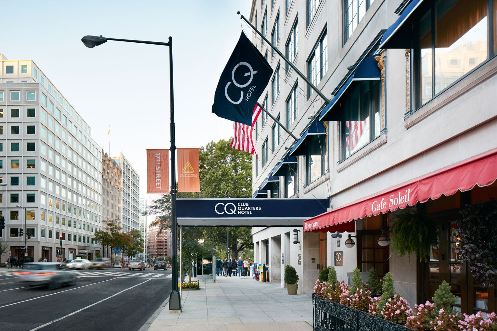 Club Quarters Hotel in Washington, DC