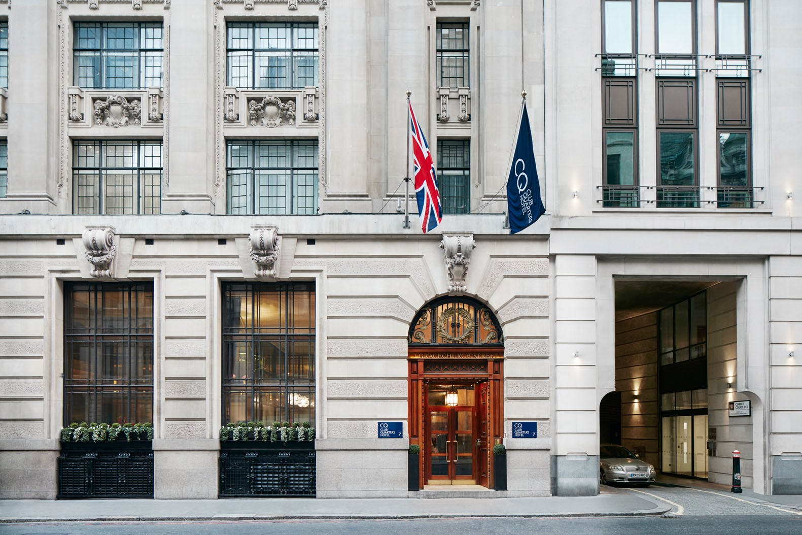 Exterior, Club Quarters Hotel, Gracechurch, London
