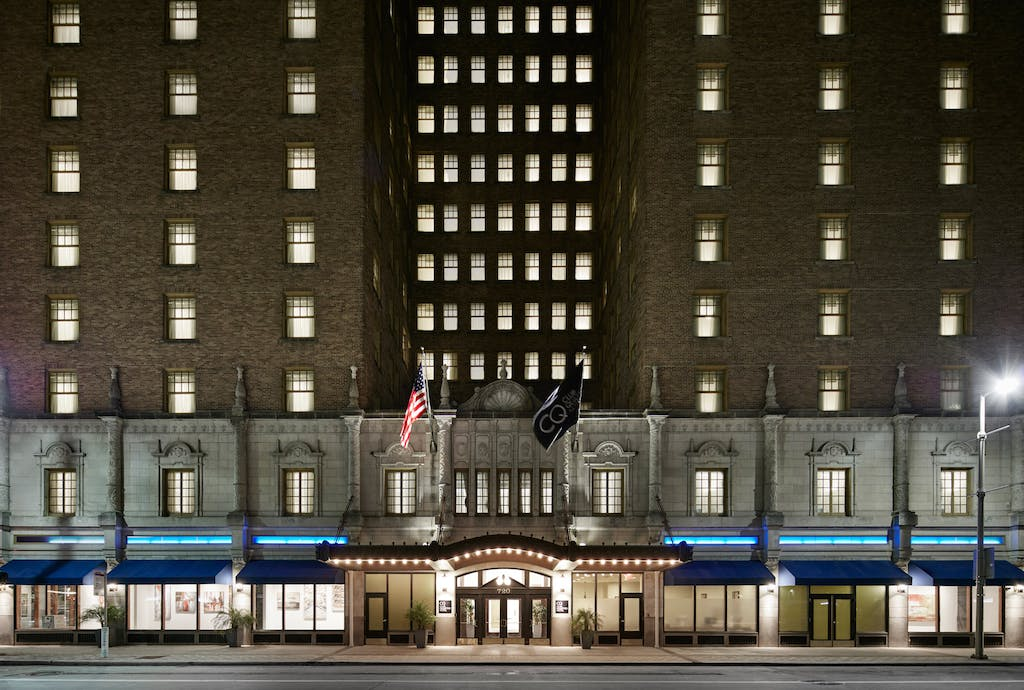 Historic Landmark Building Club Quarters Hotel In Houston