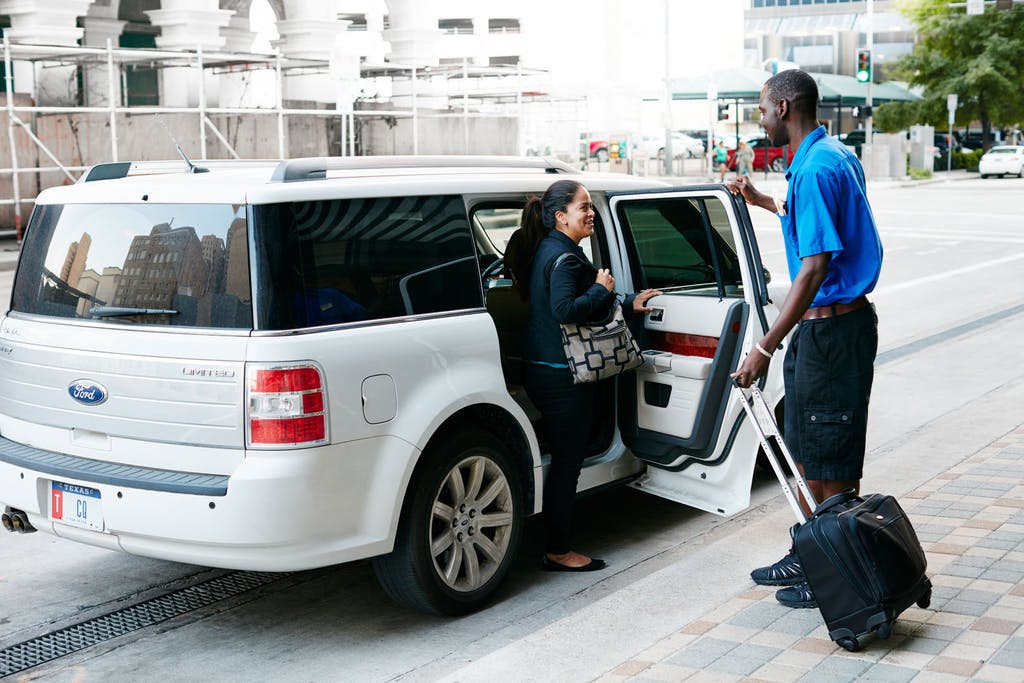 Valet Car Service at Club Quarters Hotel in Houston