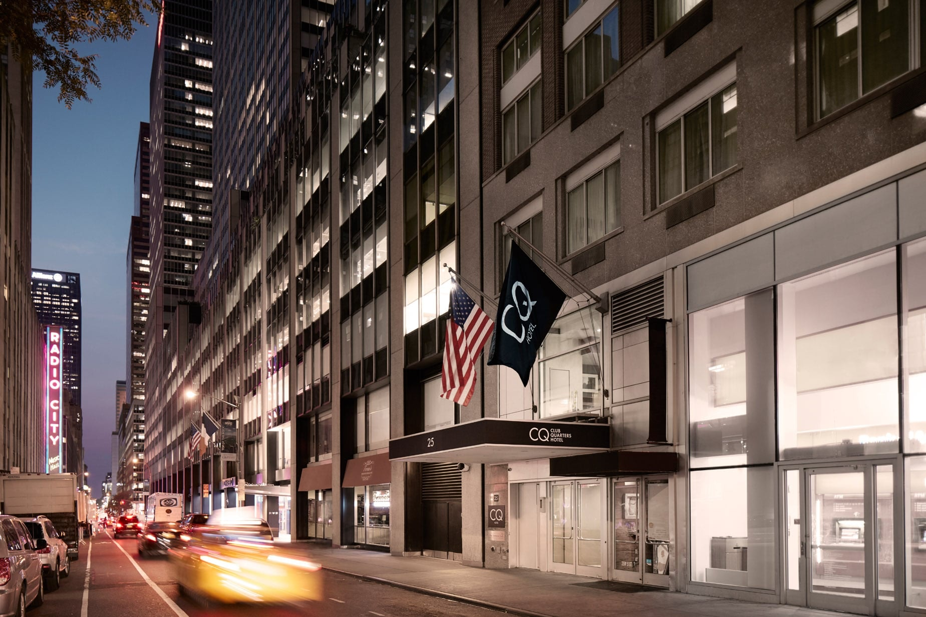 Exterior Of Club Quarters Hotels, Opp Rockefeller Center