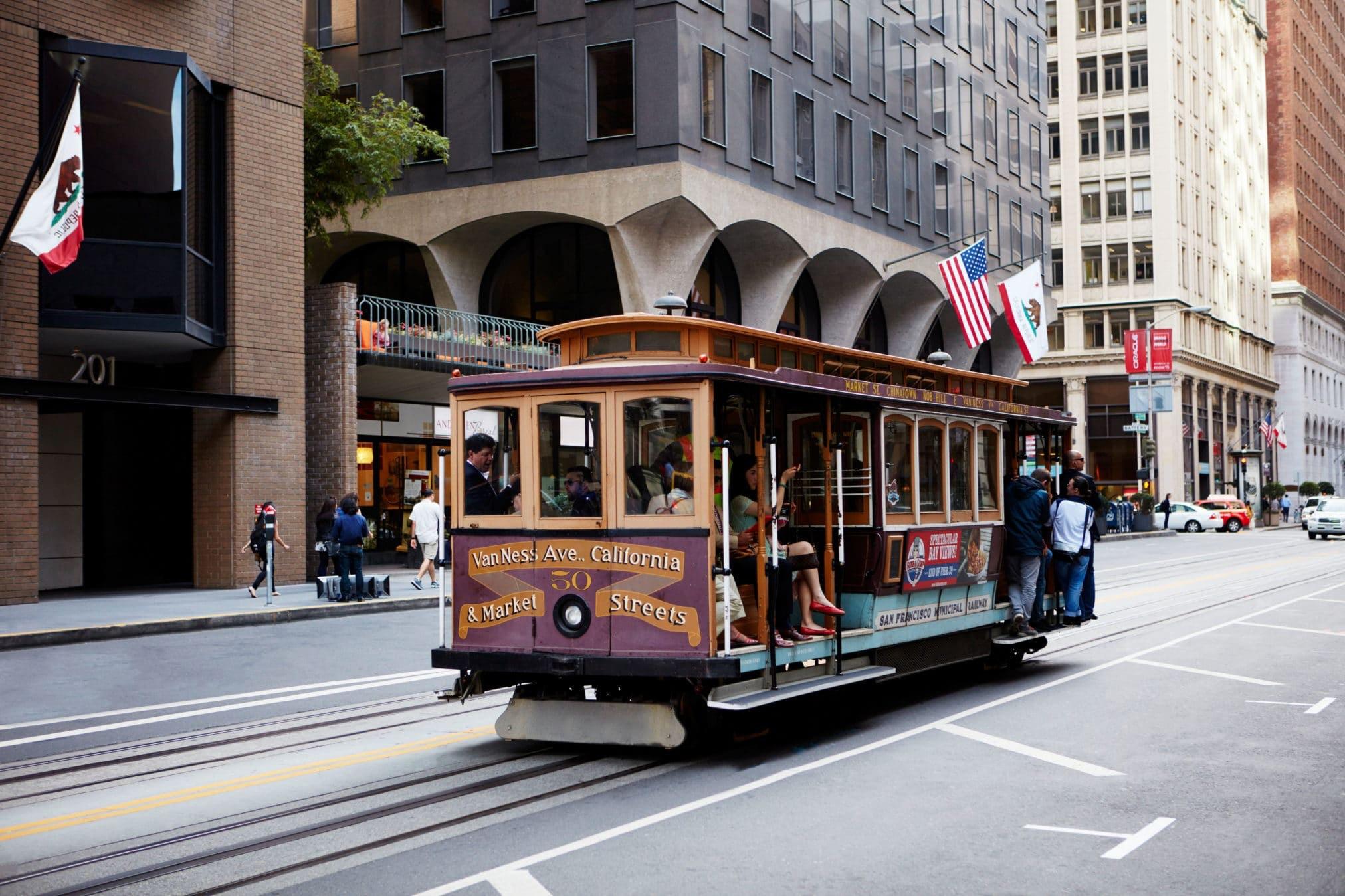 San Francisco Cable Car Club Quarters Hotel