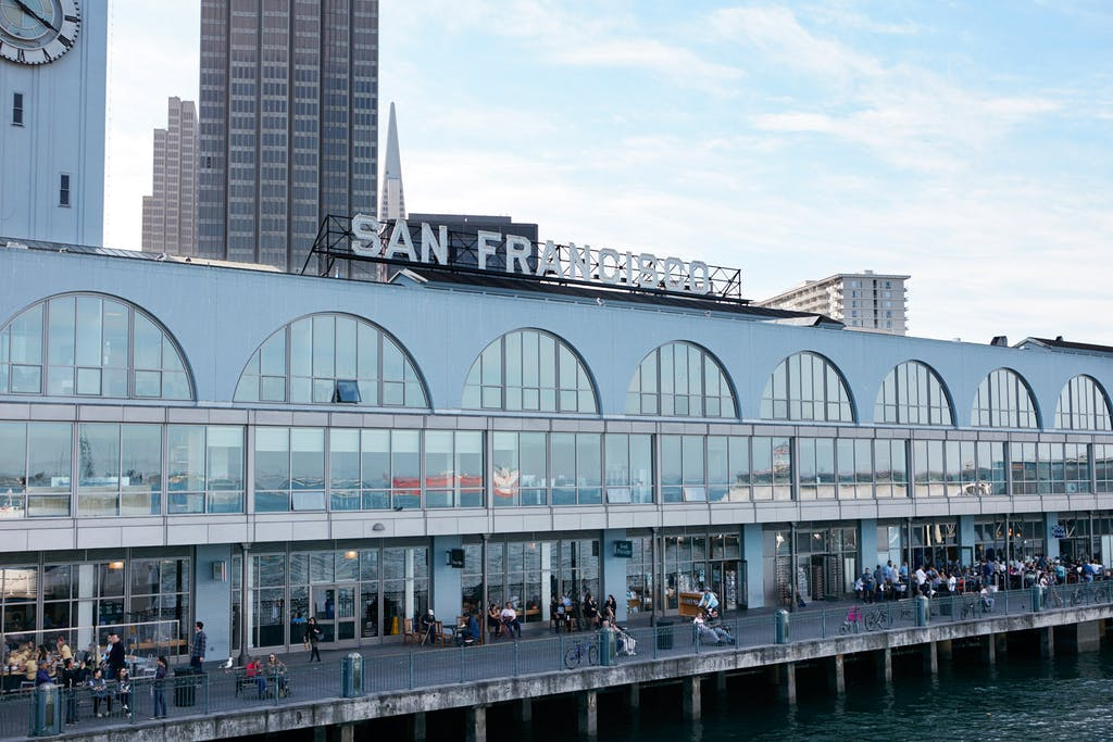 Ferry Building Marketplace San Francisco Ca