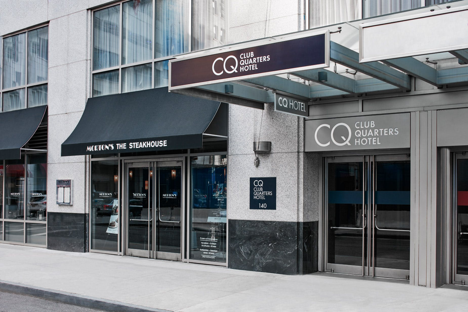 Exterior of Club Quarters Hotel, World Trade Center, Lower Manhattan