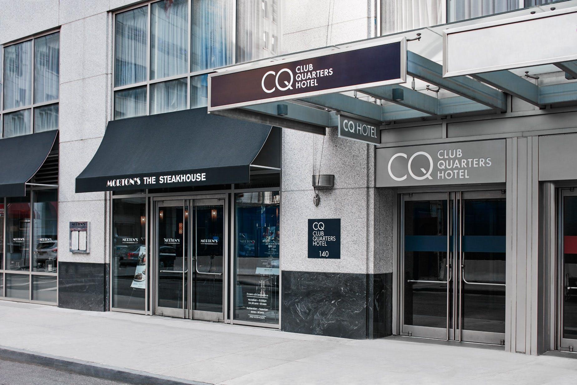 Exterior of Club Quarters Hotel, World Trade Center, Lower Manhattan