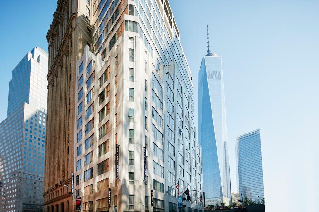 Marriott Hotel Wall Street New York