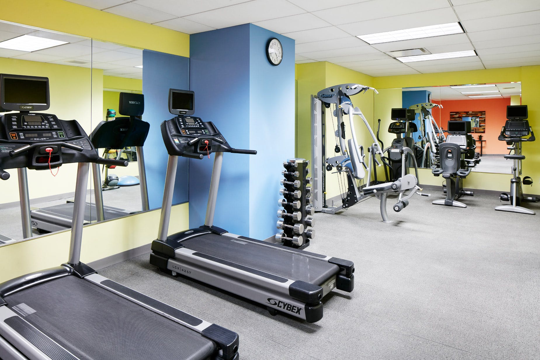 24-hour Fitness Center at Club Quarters Hotel, World Trade Center