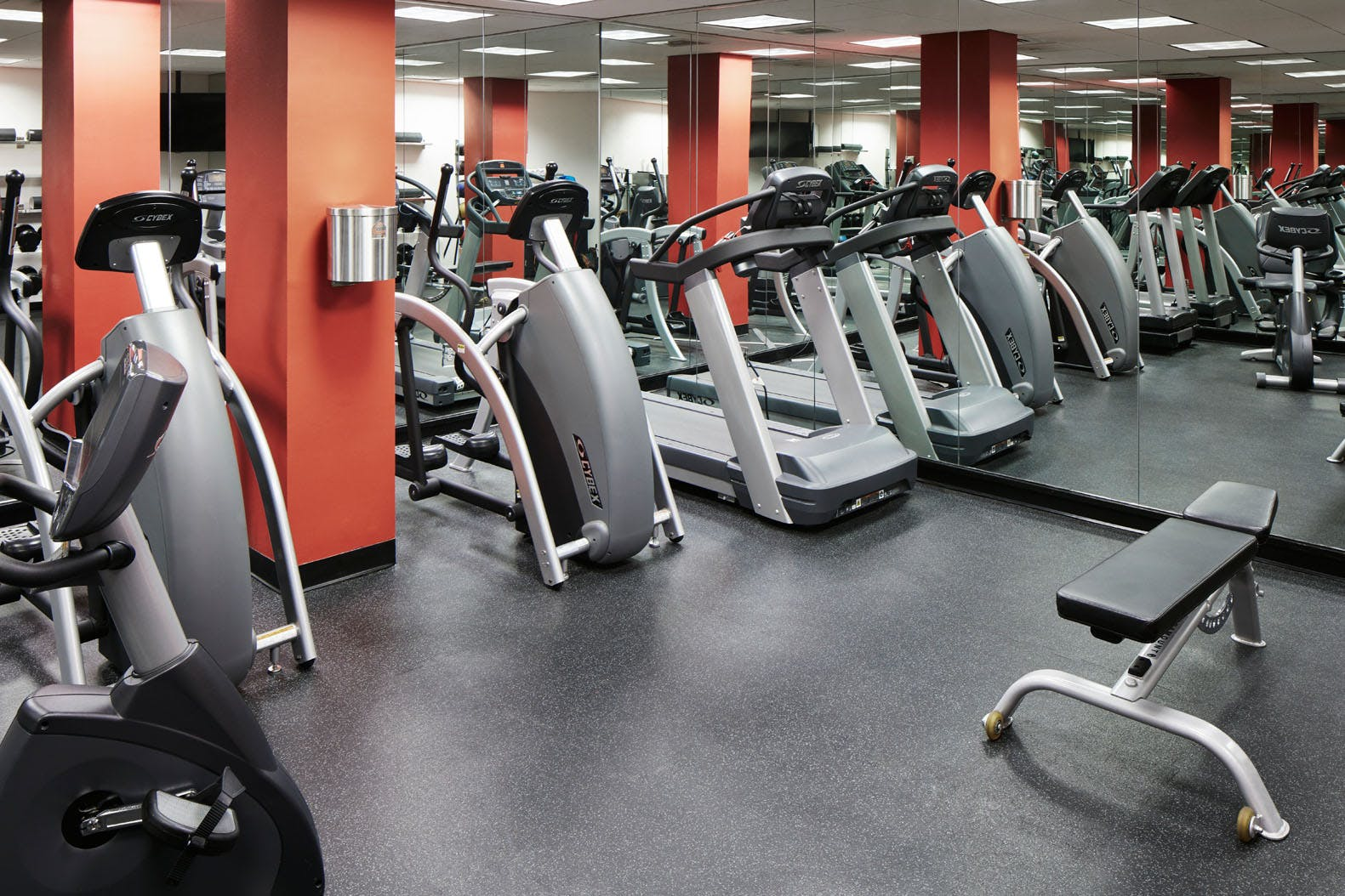 Fitness Center at Club Quarters Hotel in Boston