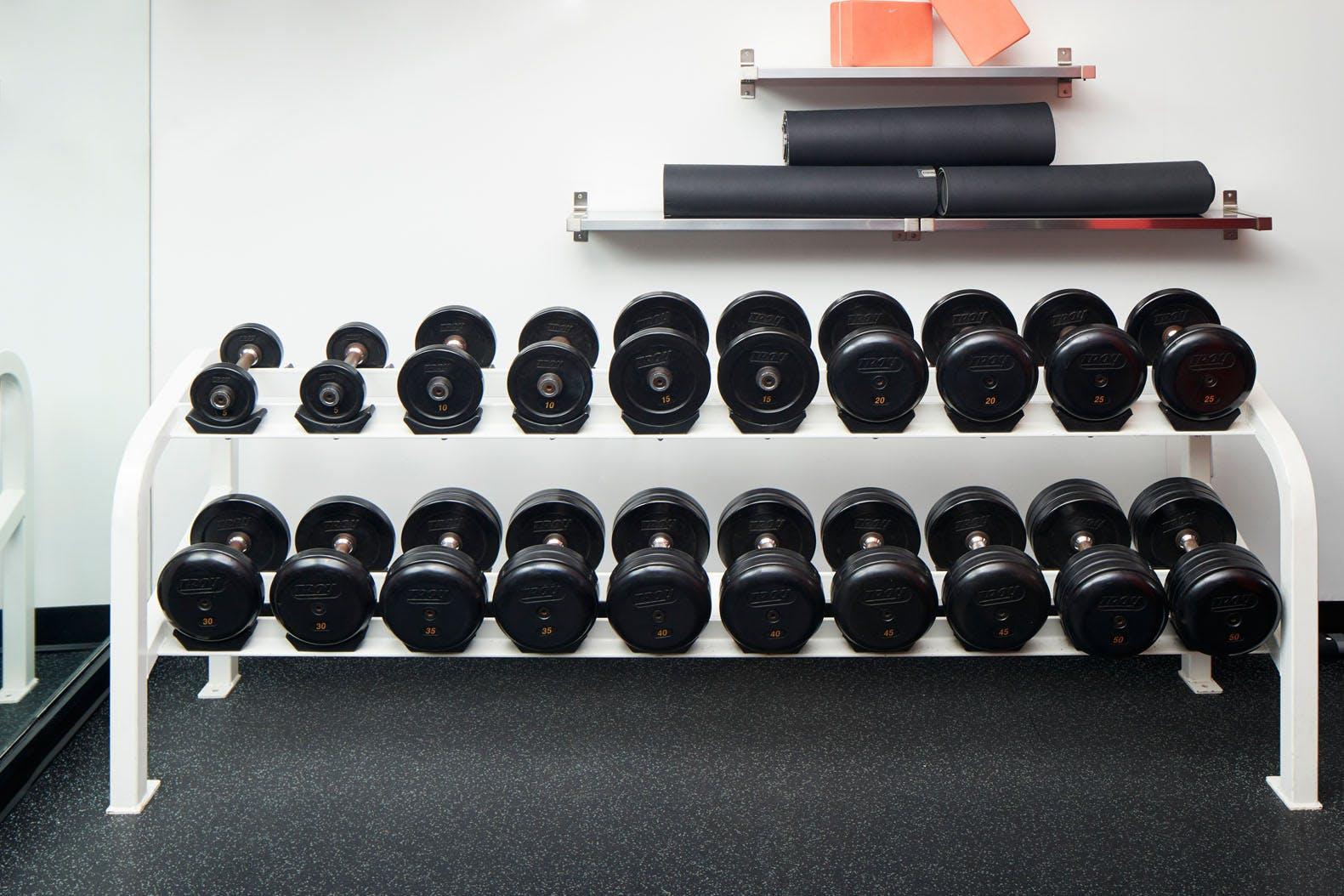 Fitness Center at Club Quarters Hotel in Boston