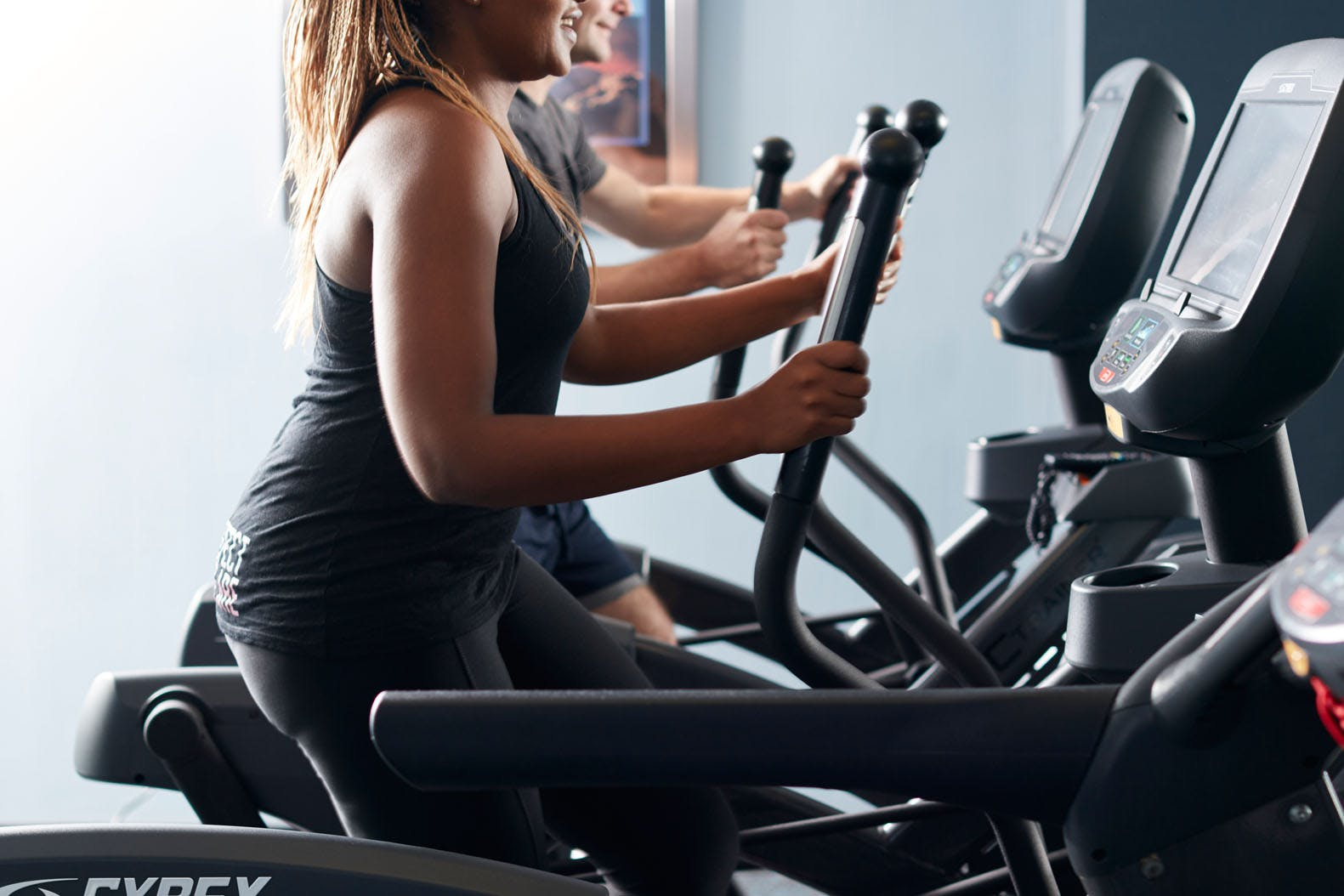 24-Hour Fitness Center at Club Quarters Hotel in San Francisco