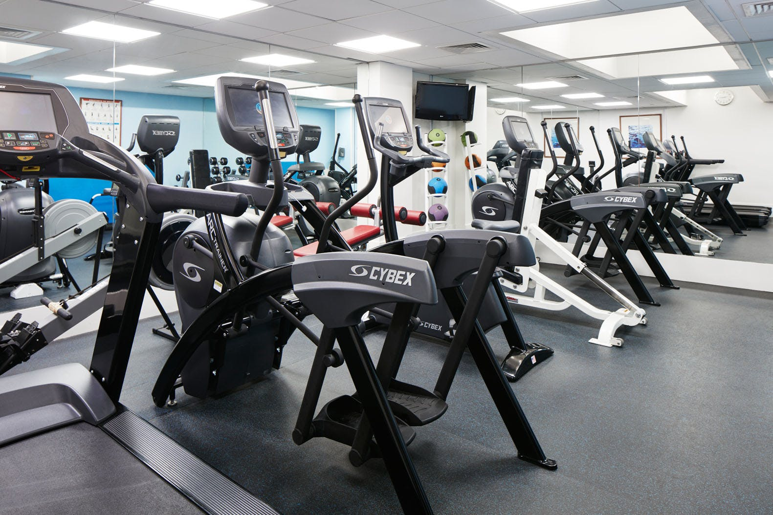 Fitness Center at Club Quarters Hotel, St. Paul's London