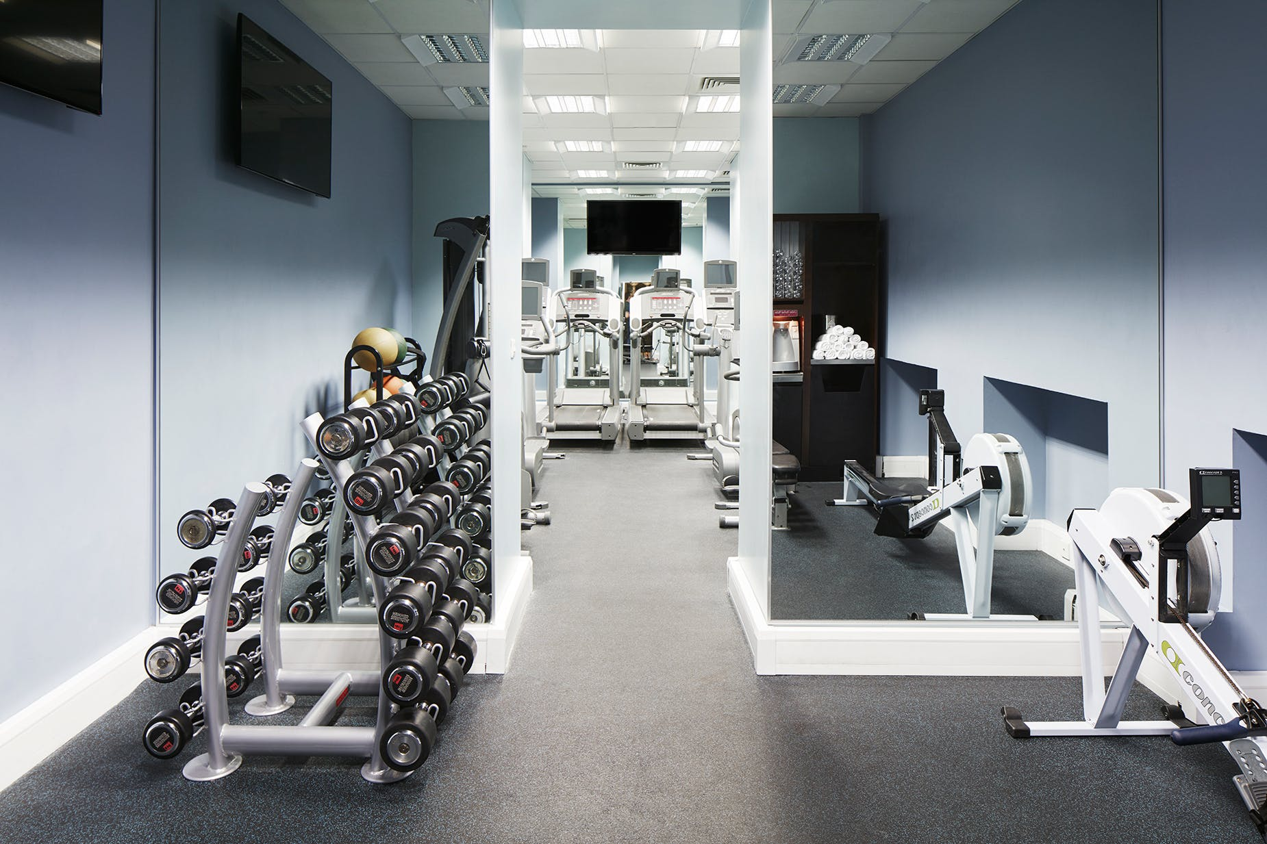 Fitness Center at Club Quarters Hotel, Trafalgar Square, London