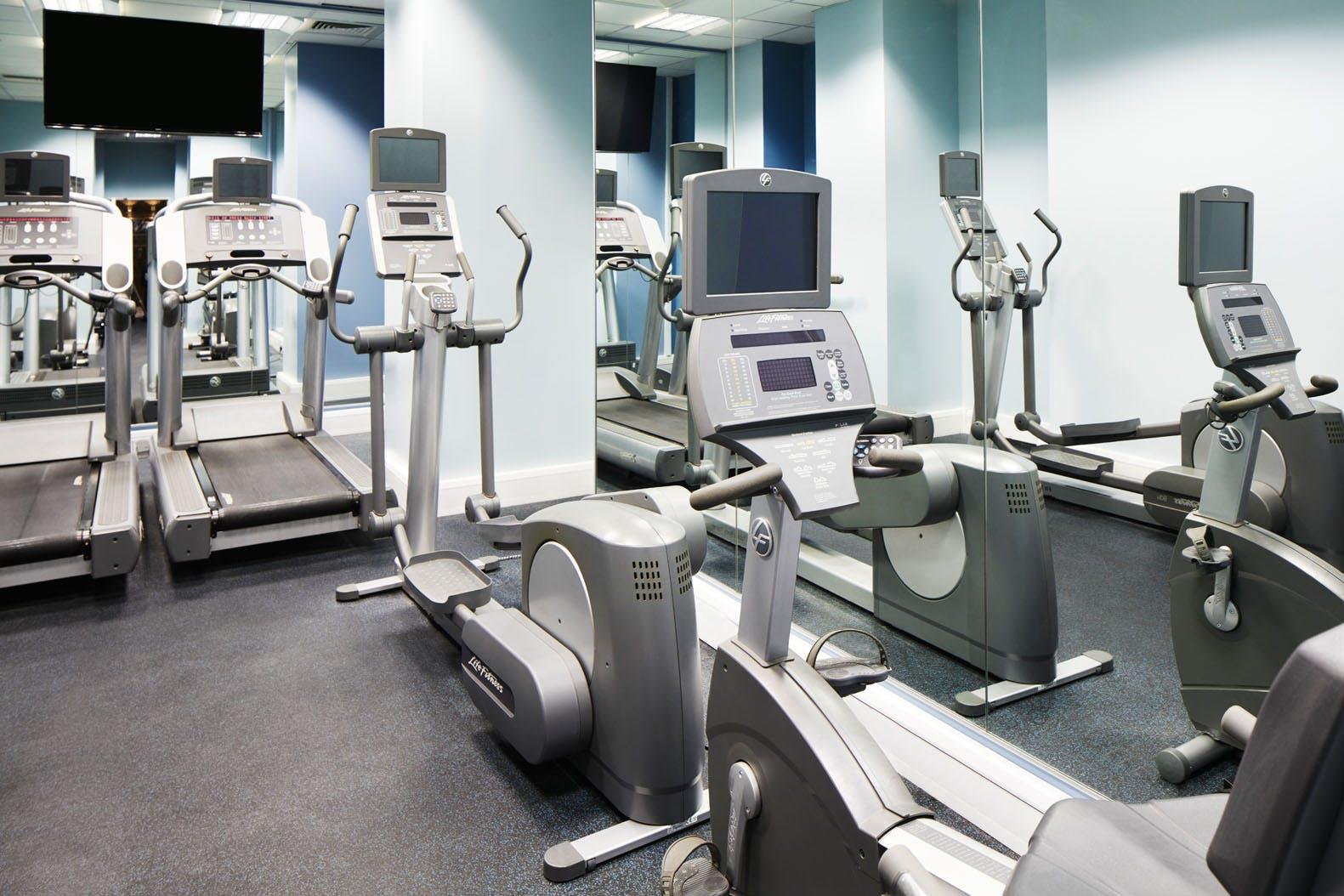 Fitness Center at Club Quarters Hotel, Trafalgar Square, London