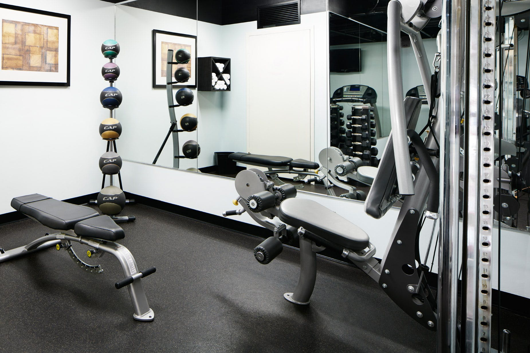 Cardio Equipment in the Fitness Center
