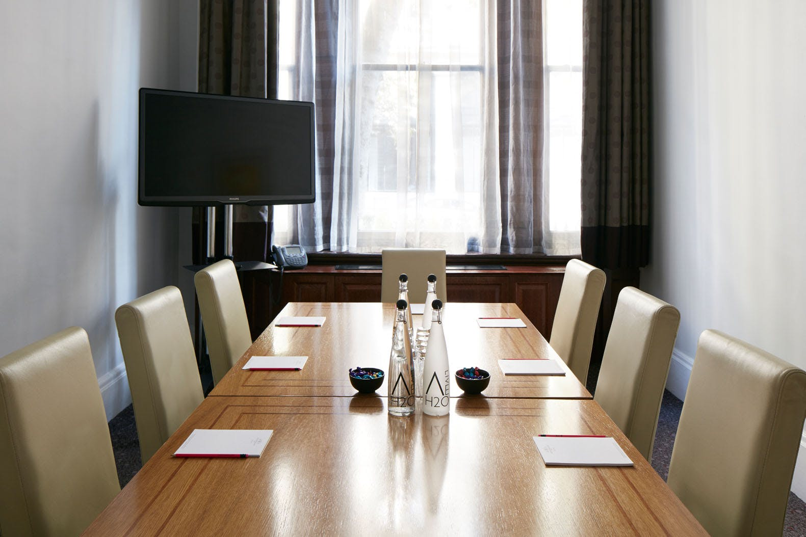 Meeting Room at Club Quarters Hotel, Trafalgar Square, London