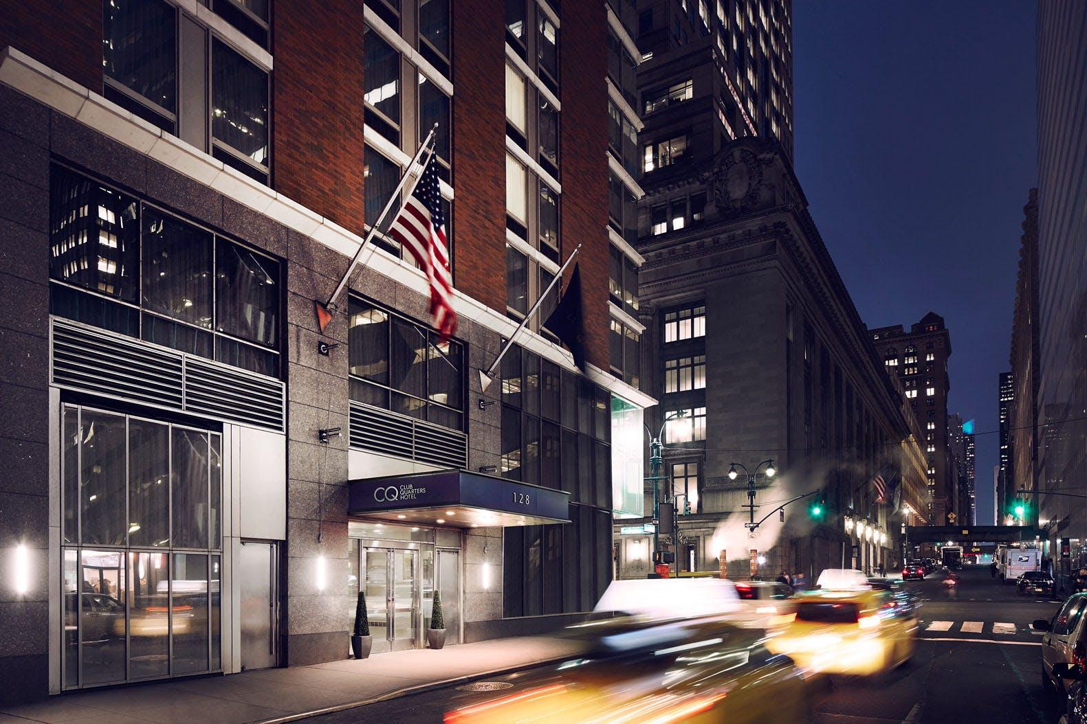 Club Quarters Hotel, Grand Central New York City