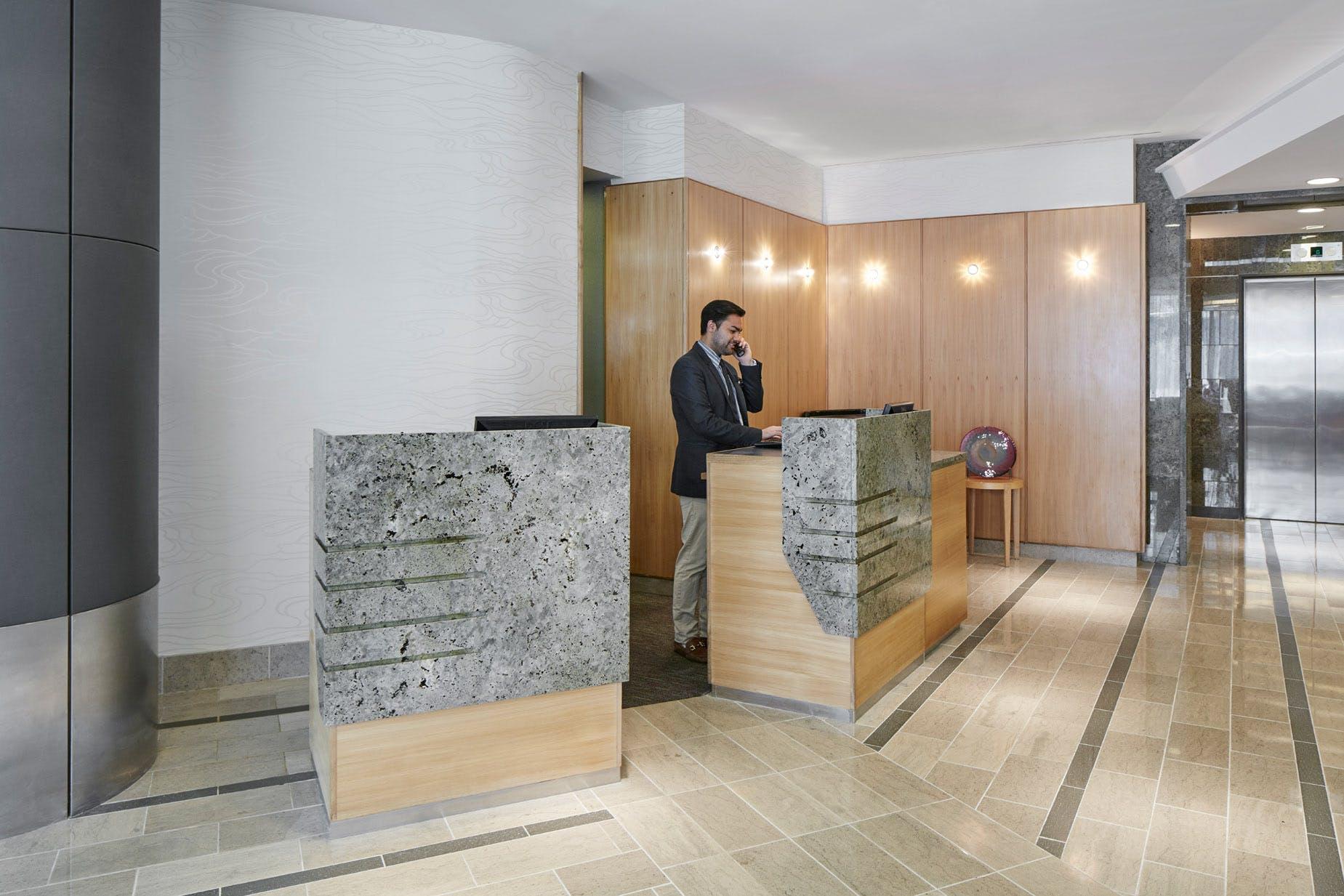 Member Service Desk at Club Quarters Hotel, World Trade Center