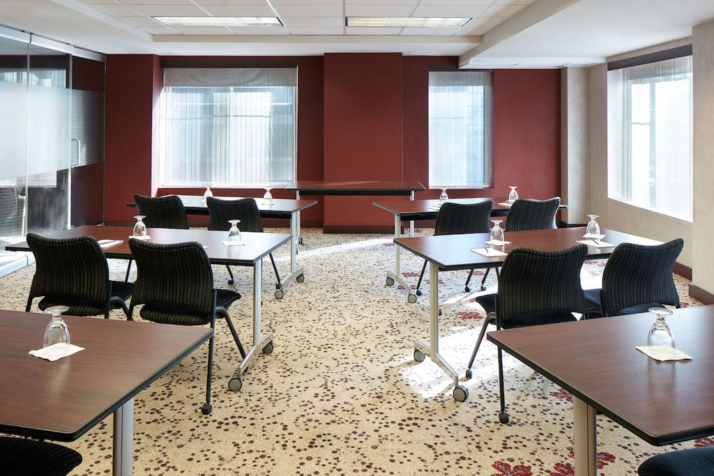 Meeting Room at Club Quarters Hotel in Washington, DC