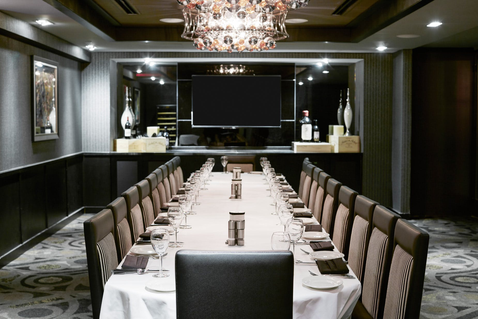 Meetings & Events Space at Mortons The Steakhouse at Club Quarters Hotel, World Trade Center