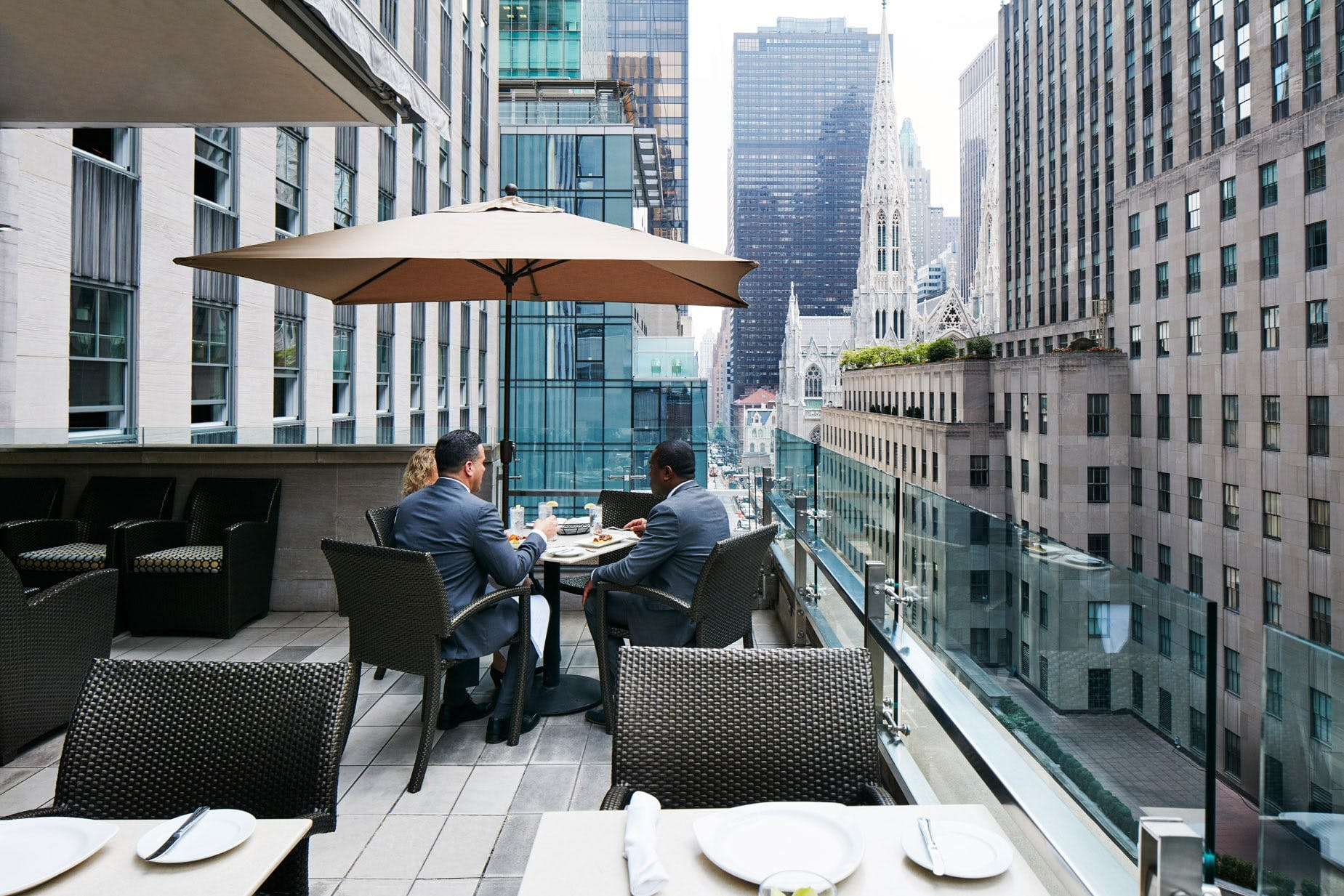 The Terrace Club at Club Quarters Hotel, Rockefeller Center