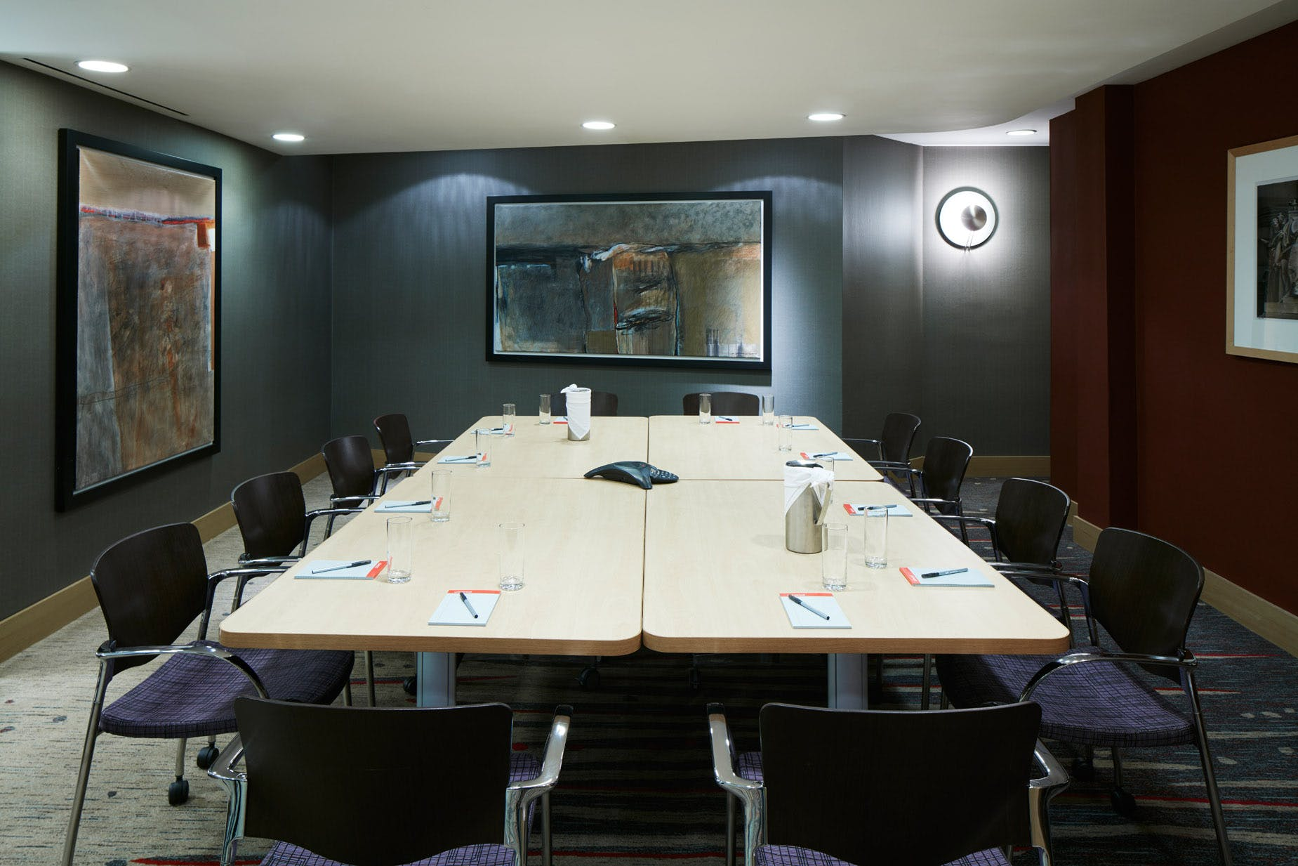 Meeting Room at Club Quarters Hotel, World Trade Center