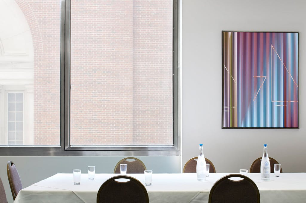 Meeting Room At Club Quarters Hotel Wall Street
