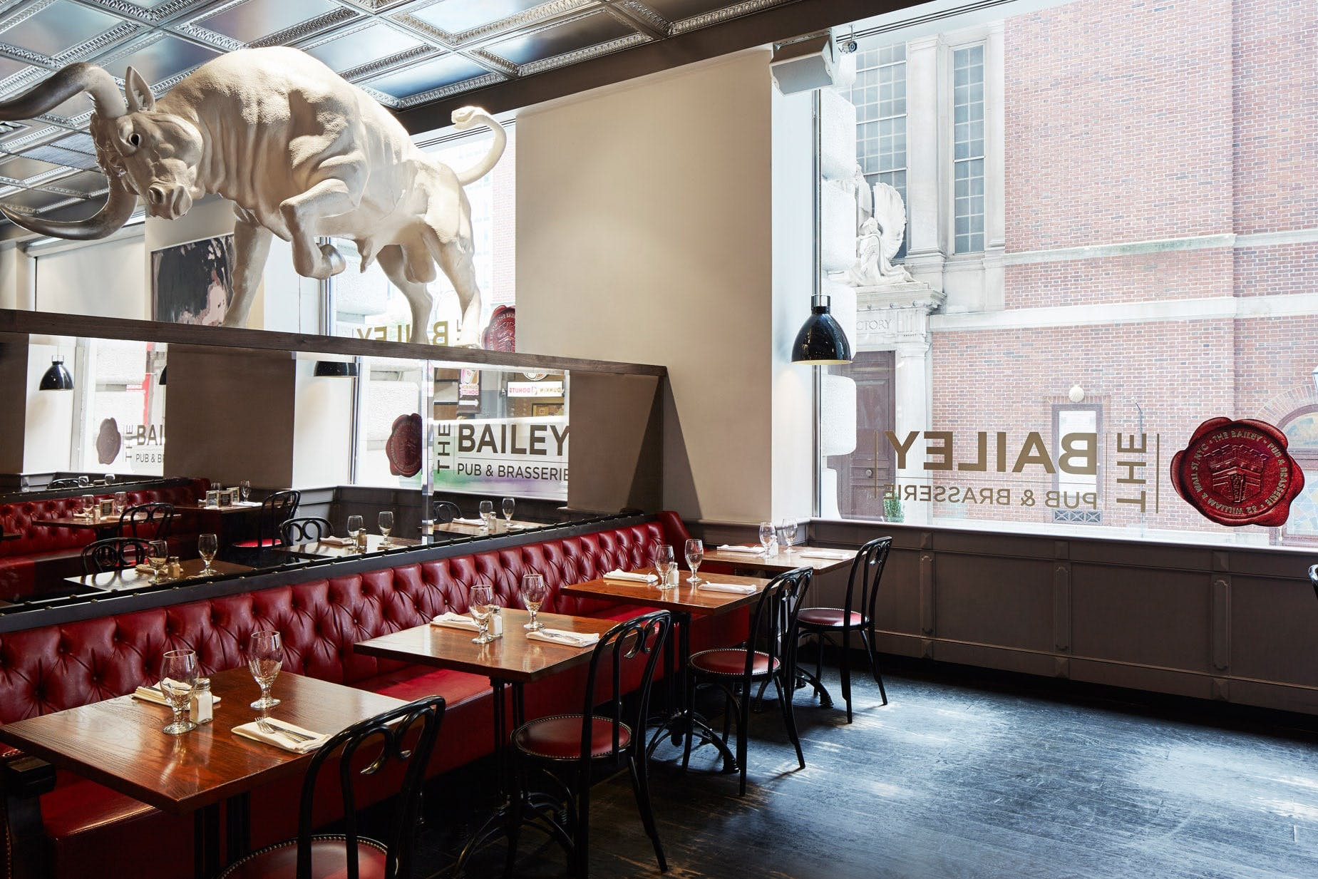 The Bailey Restaurant and Bar at Club Quarters Hotel, Wall Street
