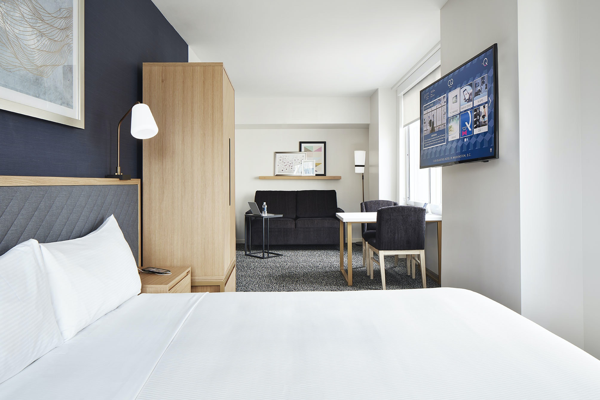 One Room Suite with Kitchenette Club Quarters Hotel