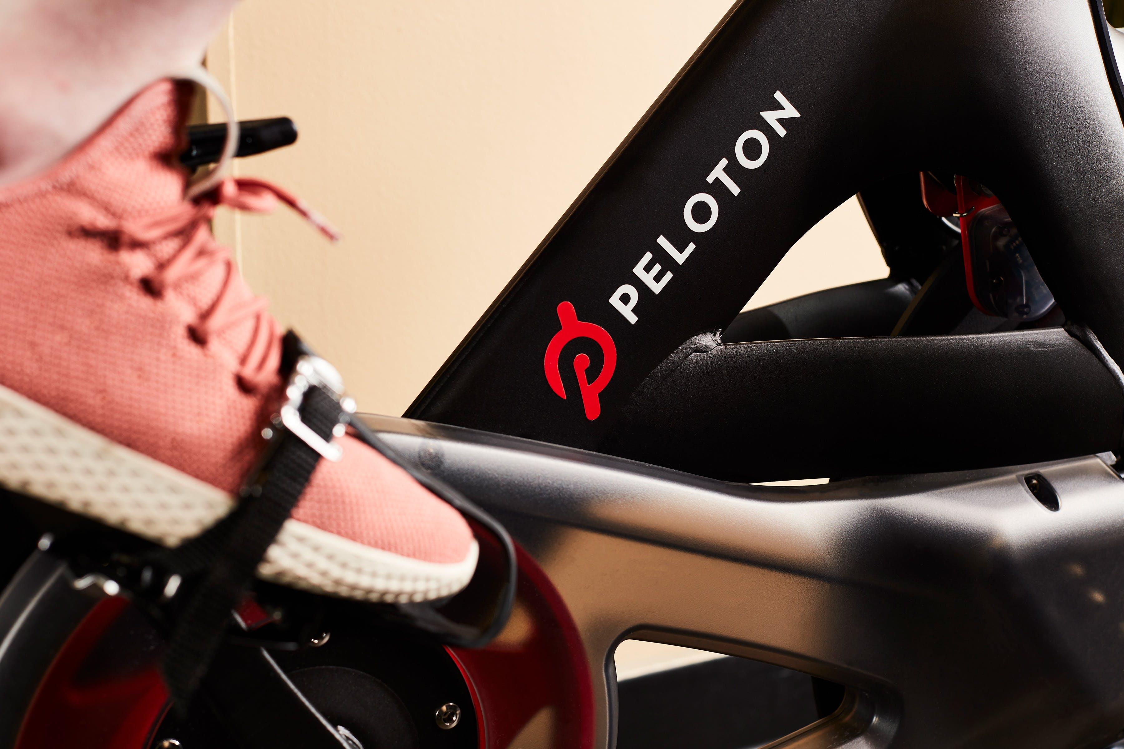 Peloton Bike Hotel Fitness Center