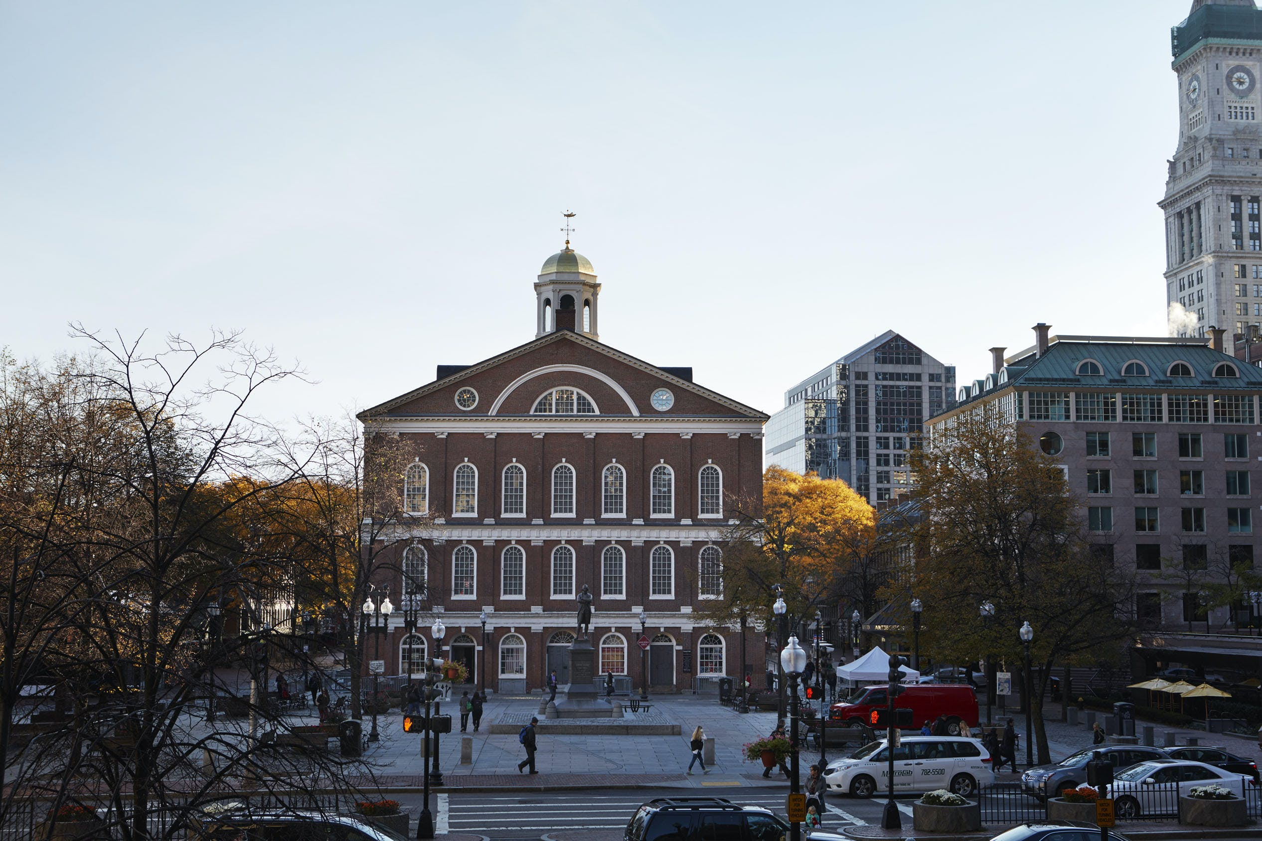 Faneuil Hall Marketplace, Boston, MA