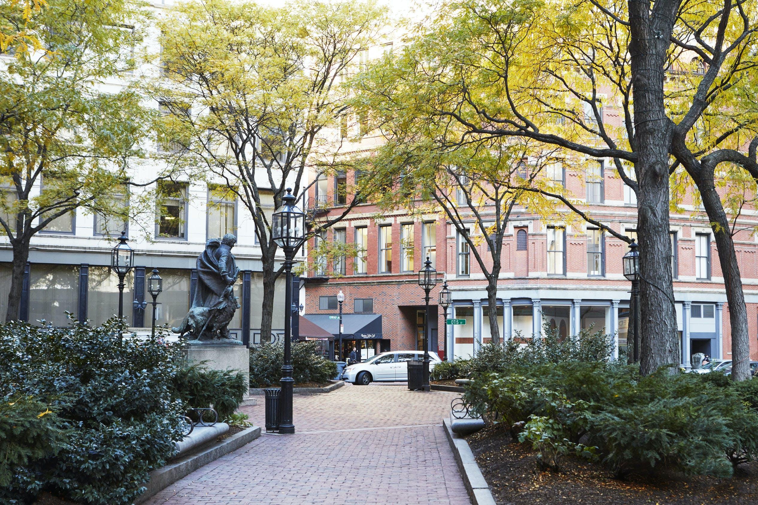 Boston Financial District neighborhood