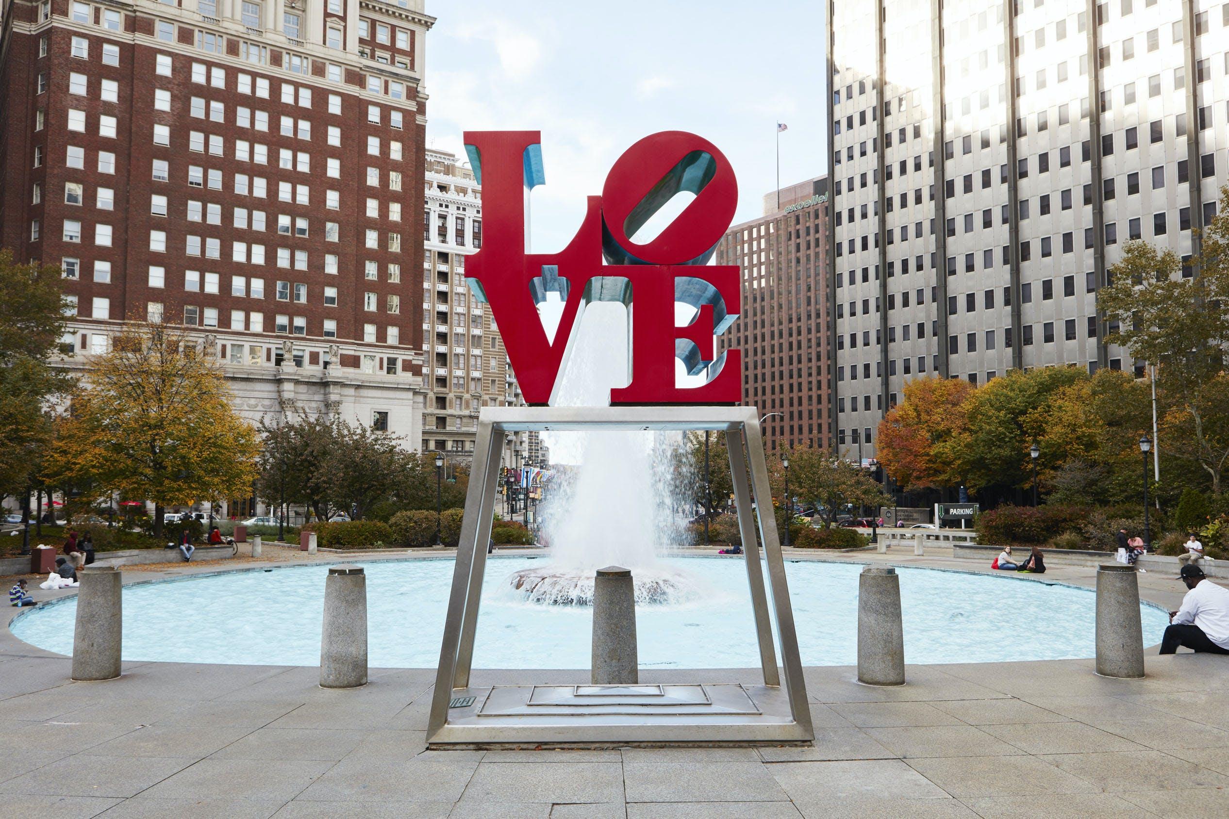 Love Park, Center City, Philadelphia
