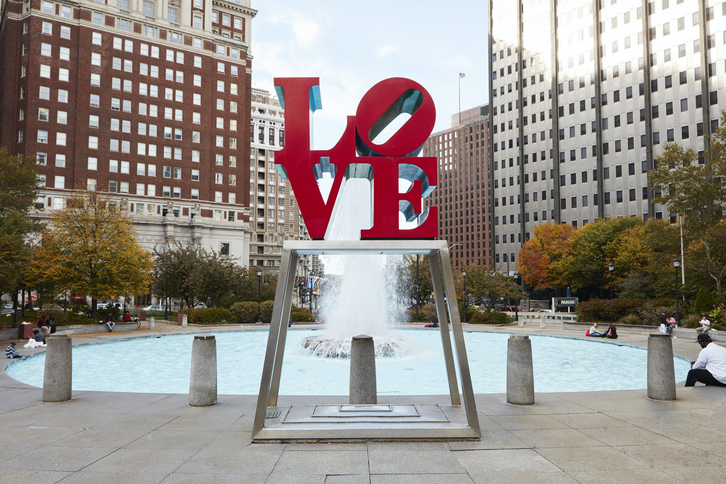 Love Park, Center City, Philadelphia