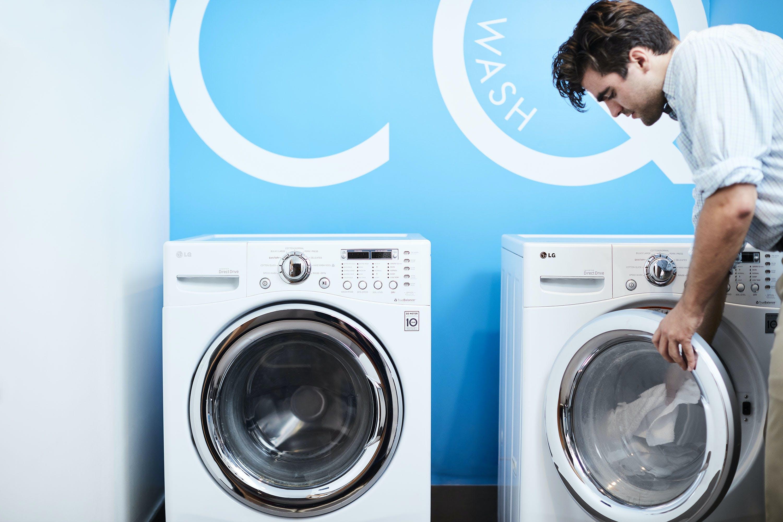 Self Service Laundry - CQ Wash - at Club Quarters Hotel, Grand Central
