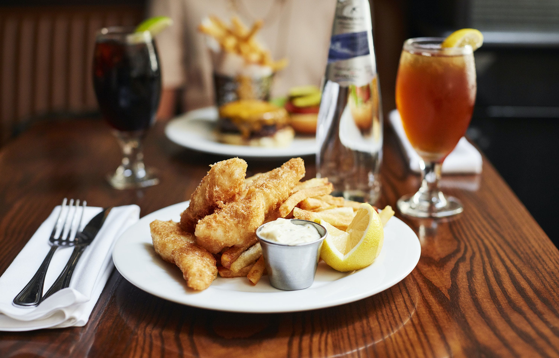 Modern Irish eats at The Bailey Pub & Brasserie at Club Quarters Hotel, Wall Street