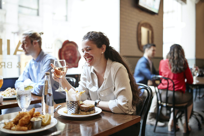 The Bailey Pub & Brasserie at Club Quarters Hotel, Wall Street