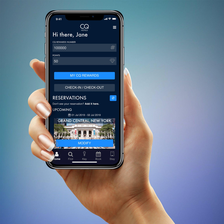 CQ Hotels Mobile App