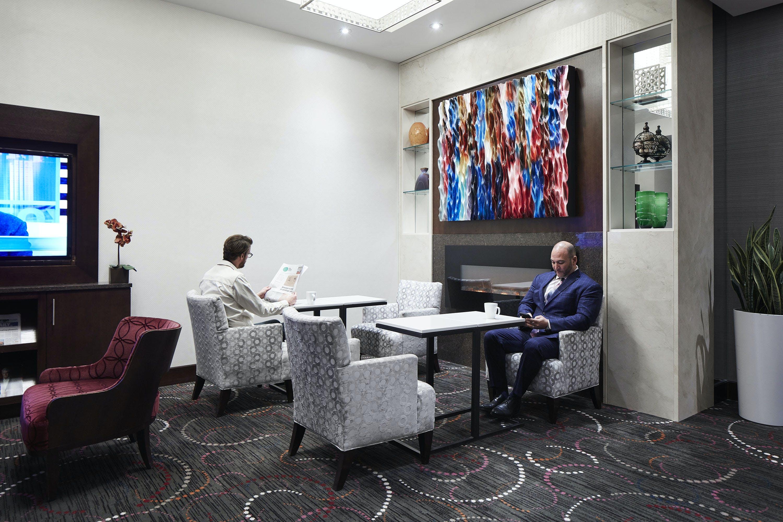 Club Living Room at Club Quarters Hotel, Wall Street