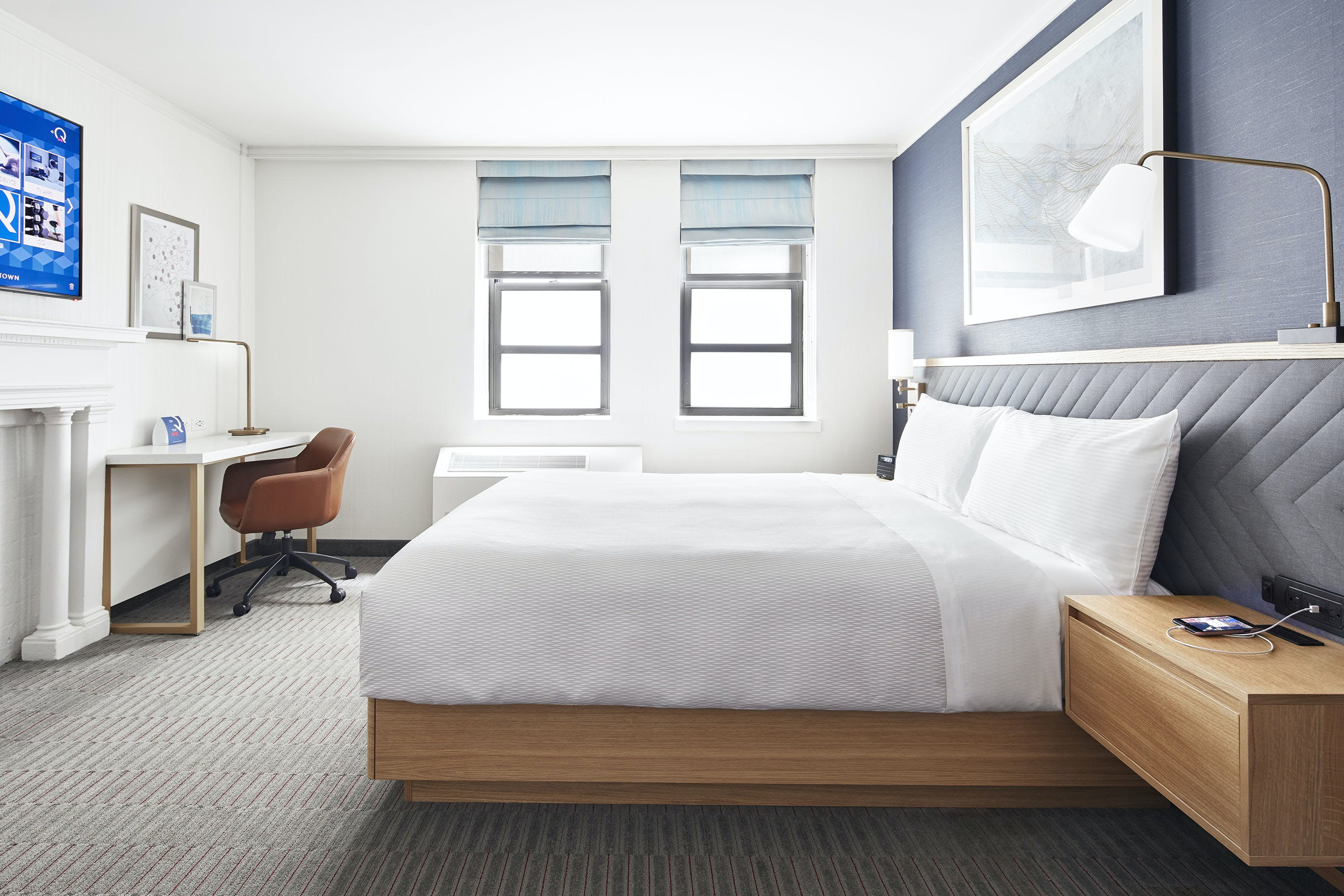 Times Square Deluxe Hotel Room