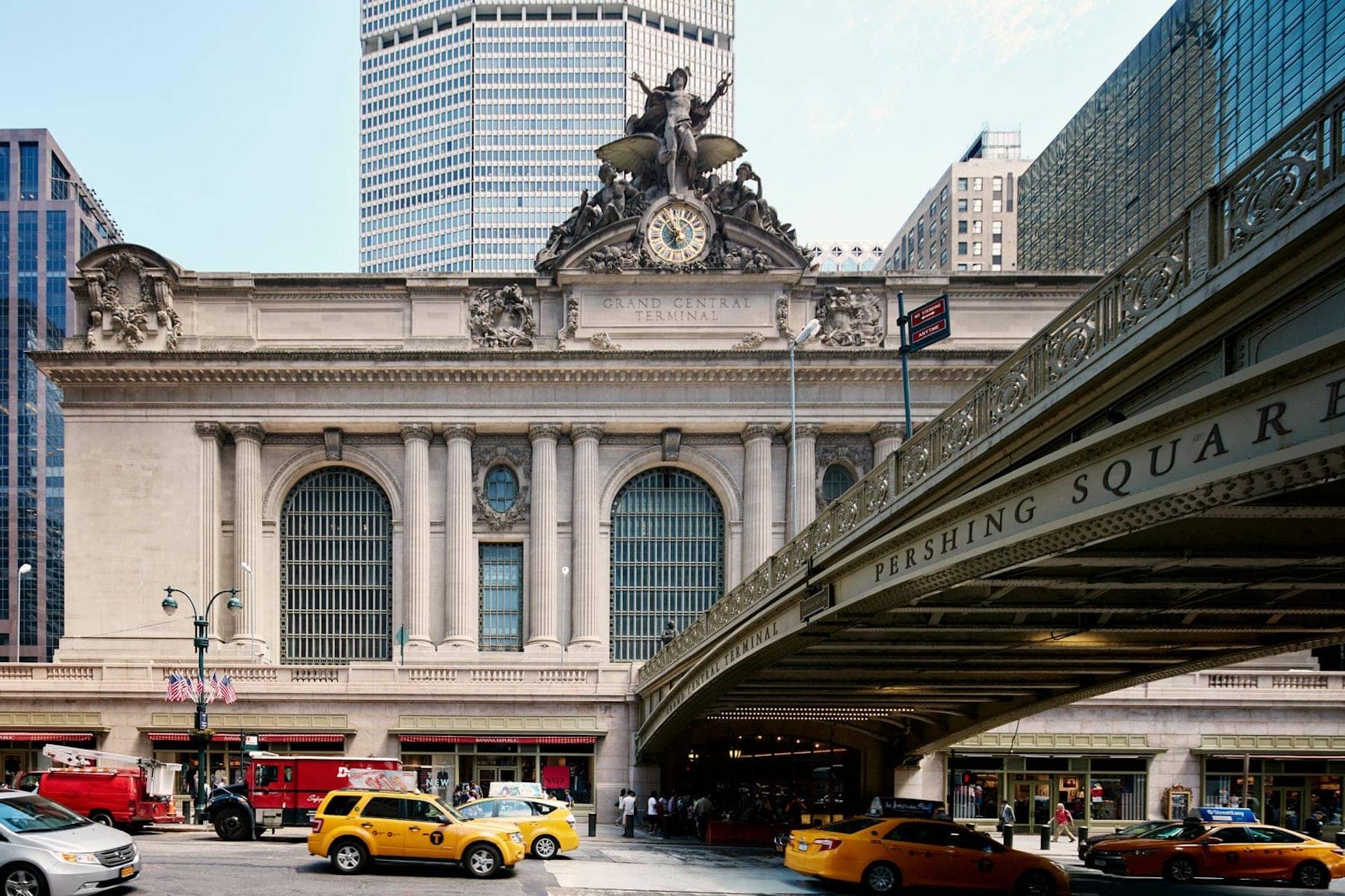 Exterior of Grand Central Terminal, New York